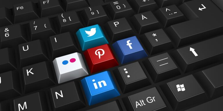 social media using sites machine learning