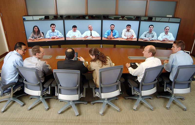 Team performance using video conference