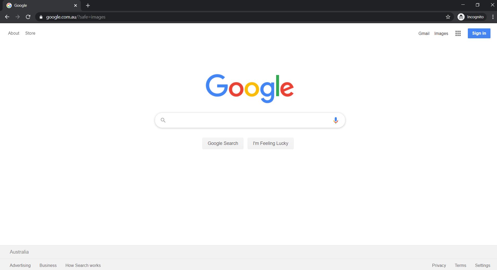 Google Gravity - Open Desktop Browser
