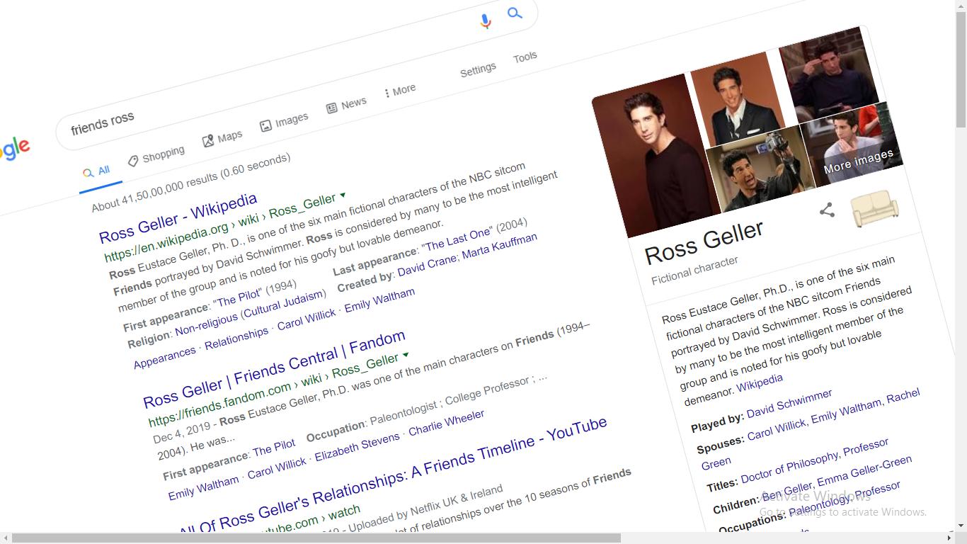 google treats friends google trick