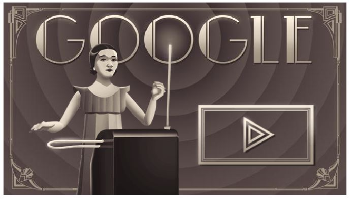 Clara rock more theremin lesson google doodle game