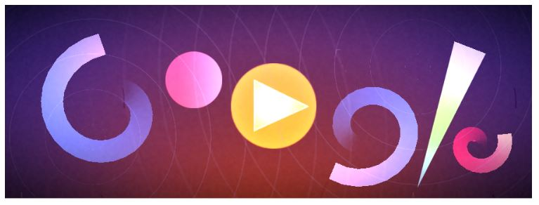 Oscar fish finger visual music composition creator google doodle game