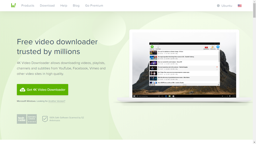 4K video downloader - youtube to mp3