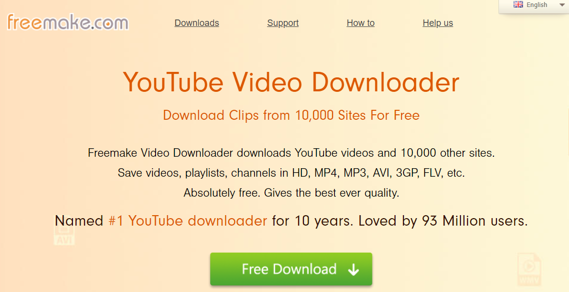 Freemake - youtube to mp3