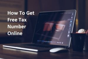 Free Tax Number Online