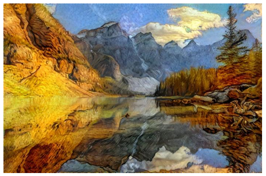 Deep Dream Landscape