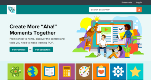 brainpop - online learning tool