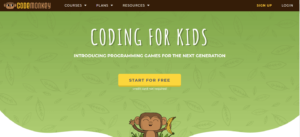 code monkey - online learning tool