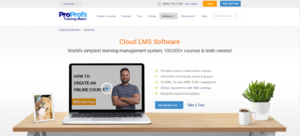 online learning tool proprofs lms software