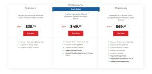 stellar photo recovery prices